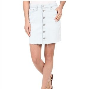 NWT Size 30 Hudson Cammy Button Front Jean Skirt